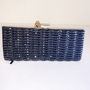 Handbags - Black Beaded Evening Clutch